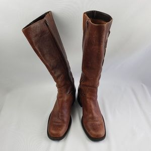 Custom women's long boots